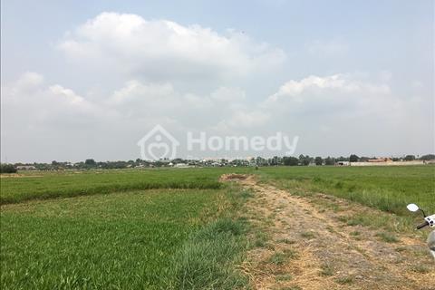 Cần sang nhượng đất làm vườn, ở xã Tân Thạnh Đông, huyện Củ Chi, diện tích 1000 m2, giá 600 triệu