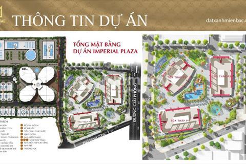 Những điểm nhấn cơ bản của căn hộ 3 phòng ngủ dự án Imperial Plaza 360 Giải Phóng