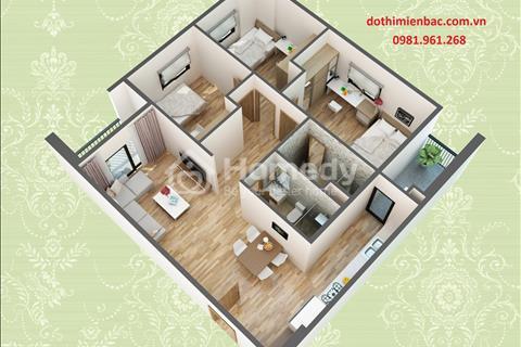 Chủ đầu tư HUD3 bán căn hộ 3 phòng ngủ diện tích 90 m2 căn góc hướng Đông Nam giá rẻ
