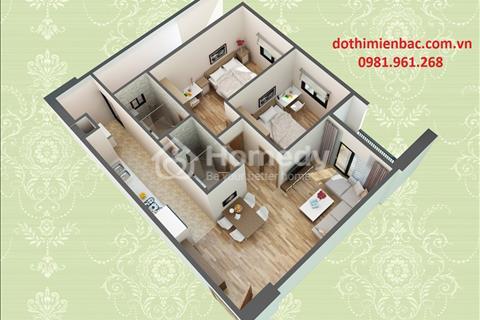 Bán suất ngoại giao căn hộ 72 m2 H2 tòa HUD3 Nguyễn Đức Cảnh hướng Nam giá rẻ