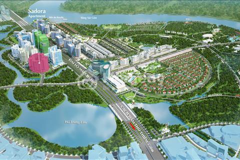 Cần bán căn hộ Sadora - Sala, 87m2, giá tốt 4,5 tỷ, view hồ bơi, nội thất cao cấp Châu Âu