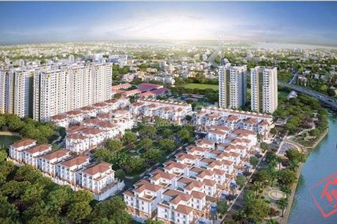Cho thuê nhà phố Nguyễn Thị Thập, mặt tiền đường số 1, khu Cityland Riverside, Tân Phú, quận 7