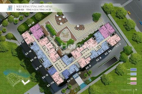 Bán những căn hộ 1-2 phòng ngủ cuối cùng dự án Sky Lake Phạm Hùng!
