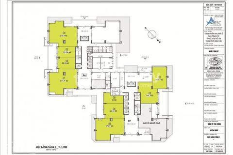 Bán sàn thương mại Green Star số 234 Phạm Văn Đồng diện tích 96 m2. Gía 24 triệu/ m2 ( đã có VAT )