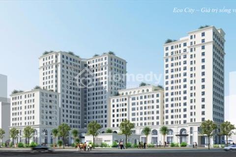 Bán suất ngoại giao căn 2 phòng ngủ, 72 m2 chung cư Eco City Việt Hưng