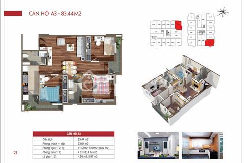 Căn hộ chung cư giá rẻ nhận nhà ngay cách Bến xe Yên Nghĩa 3,5km - Bàn giao nhà tháng 12/2017