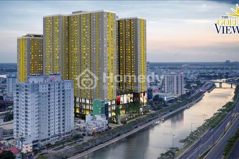 Định cư bán gấp căn 2 phòng ngủ The Gold View 90 m2, tầng 18 view đẹp, giá 4,3 tỷ