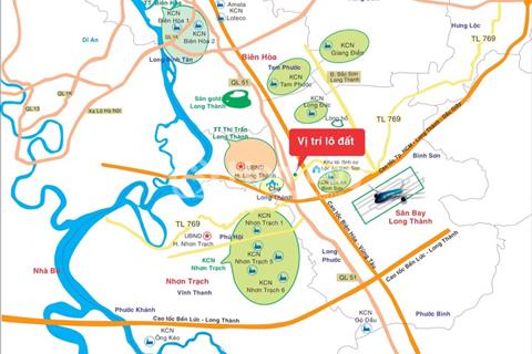 Đất nền dự án xã Lộc An gần sân bay Long Thành Đồng Nai