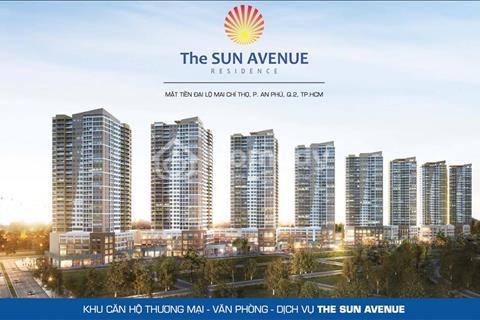 Chính chủ cần nhượng gấp căn hộ 2 phòng ngủ dự án The Sun Avenue Quận 2