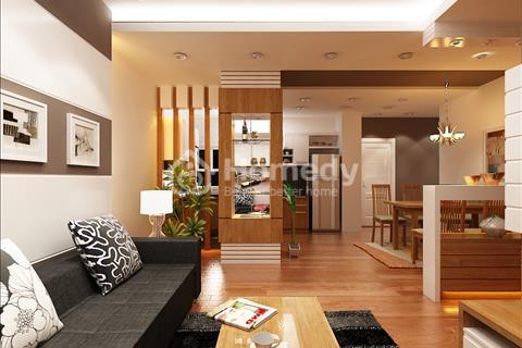 Bán căn hộ tầng 24 view thành phố giá 1,58 tỷ trung tâm Làng Việt Kiều full nội thất