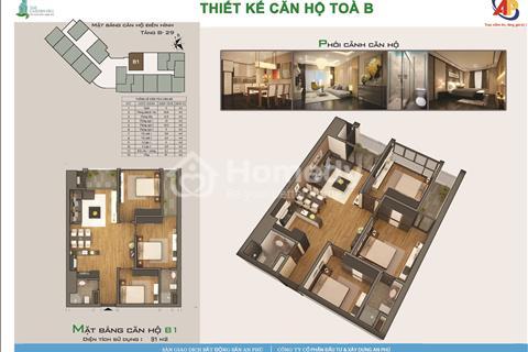 Chỉ 399 triệu đã được sở hữu căn hộ ngay tại trung tâm Mỹ Đình, hỗ trợ lãi suất 0%, chiết khấu 5,5%