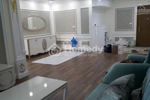 Cho thuê căn hộ 3 phòng ngủ tòa nhà Goldmark City, đủ đồ đẹp theo phong cách hiện đại tân cổ điển