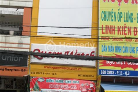 Cho thuê 2 căn liền kề mặt tiền đường Cách Mạng Tháng Tám, phường 7, quận Tân Bình, Hồ Chí Minh