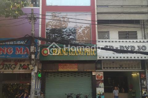 Cho thuê nhà mặt tiền đường Châu Văn Liêm, phường 10, quận 5. Gấp!