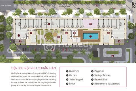 Chung cư Văn Phú Hà Đông (54-93 m2) giá 18 triệu/m2 cạnh Metro, Victoria, mặt đường 50 m