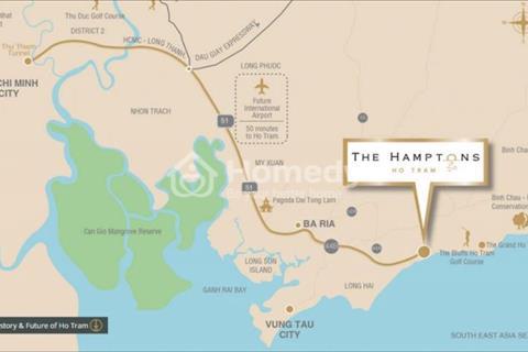Biệt thự biển The Hamptons Hồ Tràm Vũng Tàu, condotel mang lại lợi nhuận đầu tư sinh lời cao