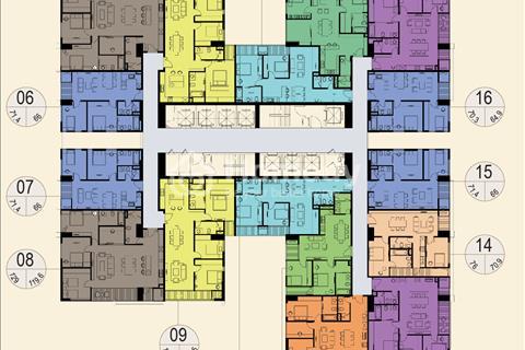 Bán căn hộ chung cư Imperia Garden, 73,9 m2, tầng 1610, tòa A - 35 tầng, giá 2,4 tỷ