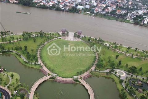 Cho thuê căn hộ Landmark 1 Vinhomes Central Park, căn 4 phòng ngủ, 155 m2, tầng cao view sông đẹp