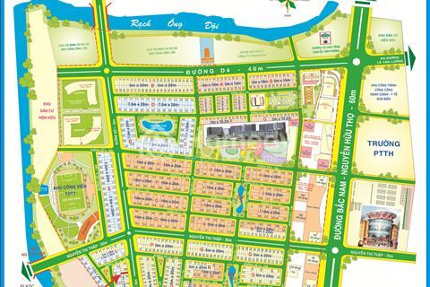 Bán đất lô góc J33 đường số 1 khu dân cư Him Lam, Tân Hưng, Quận 7