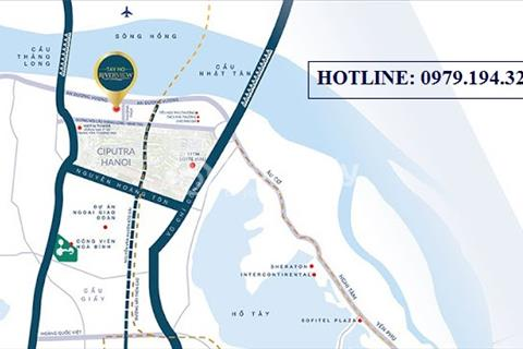 Nhà nội đô - giá ngoại ô - ra mắt dự án bom tấn ngắm trọn vẹn sông Hồng, chung cư Tây Hồ River View