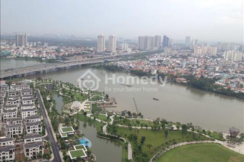 Cho thuê căn hộ Landmark 1 Vinhomes Central Park, căn 155 m2, tầng cao view sông đẹp