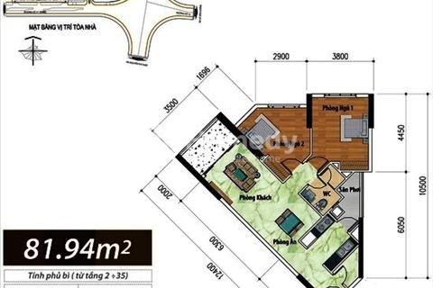Cho thuê Hoàng Anh Thanh Bình nhà trống mới 2 phòng ngủ, giá 11triệu/tháng