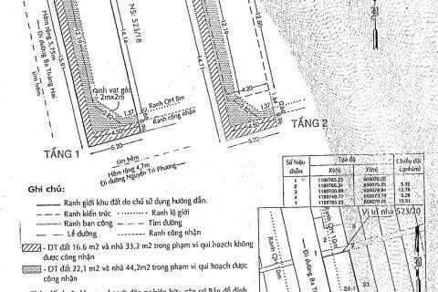 Cần bán gấp nhà riêng căn góc, hẻm đường Nguyễn Tri Phương, Quận 10