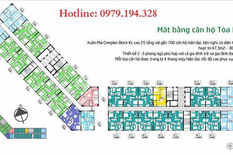 Chung cư Hà Đông - còn duy nhất căn 47 m2, 2 phòng ngủ, view bể bơi cực mát - giá 896 triệu
