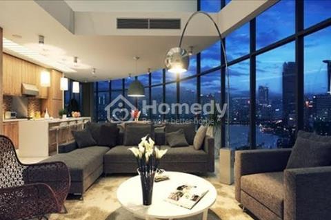 Cho thuê căn hộ Vinhomes 2 phòng ngủ, có nội thất. Giá 14 trệu bao phí, view sông