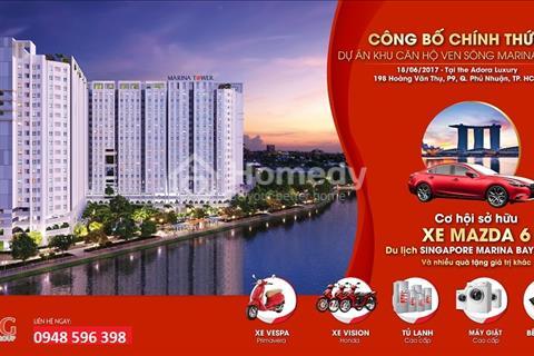 Mua nhà trúng xe Mazzda 6 tại Marina Tower với giá chỉ 699 triệu/căn 2 phòng ngủ
