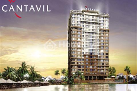 Kẹt tiền bán Cantavil Hoàn Cầu 3 phòng ngủ, 120 m2, tầng 19, view Quận 1. Giá 4 tỷ tặng nội thất