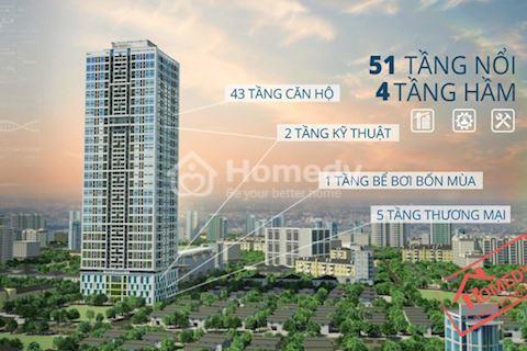 Bán căn hộ Tokyo Tower 90 m2, 3 phòng ngủ, 2 WC full nội thất cao cấp, giá 1,9 tỷ