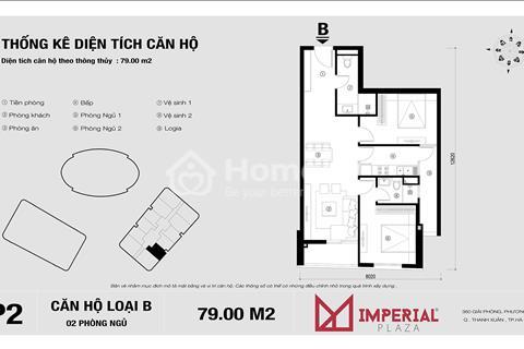 Bán lại căn số 11 tòa IP2, dự án Imperial Plaza