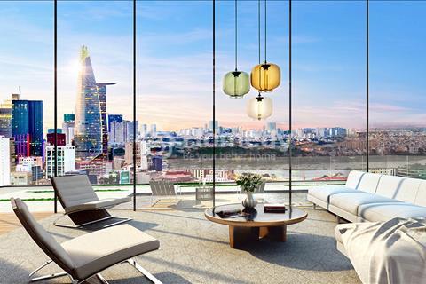Gia đình cần bán The Tresor 110 m2, 3 phòng ngủ, view sông, tầng 10, giá gốc chủ đầu tư