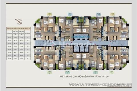 Cất nóc dự án Vinata Tower, mở bán thêm 12 suất ngoại giao, Giá ưu đãi
