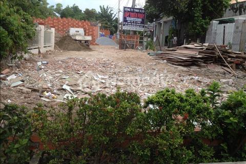 Đất làm xưởng may, bãi đỗ xe (hẻm xe hơi) Phạm Văn Chiêu