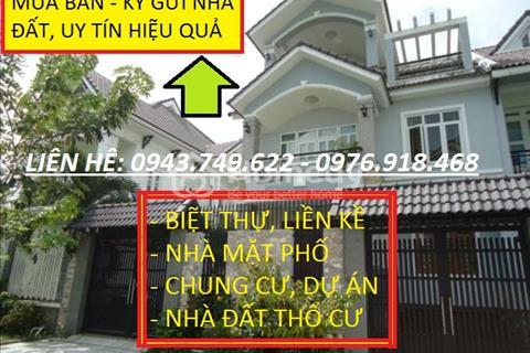 Bán gấp 110 m2 và 210 m2 lô góc biệt thự 3 mặt tiền khu đô thị Phùng Khoang Nam Cường giá rẻ