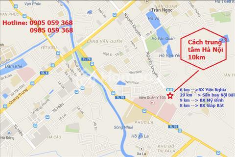 Chính chủ bán căn hộ chung cư  Viện 103, Tòa CT2, tầng 18-07, diện tích 76,99 m2, giá 15 triệu/m2