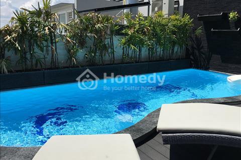 Kẹt tiền bán gấp Penthouse Sunrise City 430 m2, full nội thất, vườn 115 m2, hồ bơi riêng, 14 tỷ