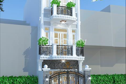 Nhà mới xây 2 lầu 1 trệt 4 phòng ngủ, 5 WC ngay Thạnh Xuân 25
