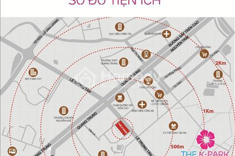 Căn hộ phong cách Hàn Quốc tại trung tâm quận Hà Đông giá từ 18,8 triệu/m2