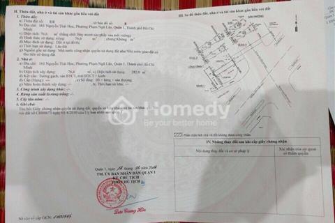 Bán nhà mặt tiền kinh doanh Nguyễn Thái Học, Phạm Ngũ Lão, Quận 1, giá 40 tỷ