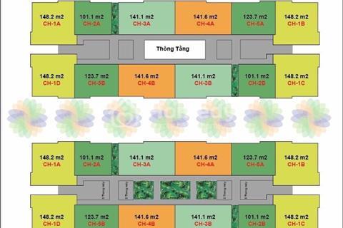 Bán gấp căn hộ 101m2, vị trí đẹp, hot nhất dự án CT4 - Vimeco