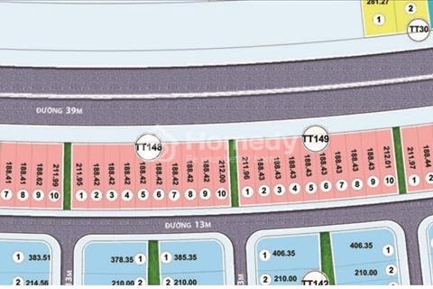 Bán liền kề thương mại Nam An Khánh 188 m2 xây dựng 4 tầng đường 39 m