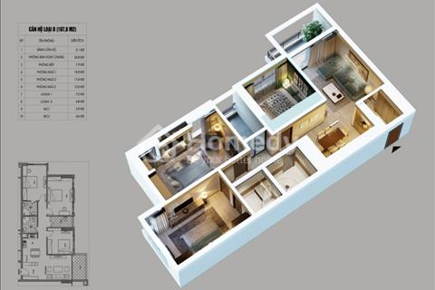 Cần bán căn hộ tầng 15 chung cư Northern Diamond giá 3,2 tỷ, view sân golf Long Biên