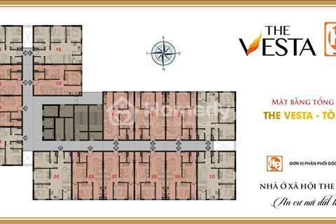 Bán căn hộ chung cư The Vesta Hà Đông căn 16 tòa V8 tầng đẹp.