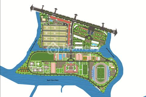 Đất nền huyện Nhà Bè sốt nhất năm 2017, xem qua để biết thêm dự án