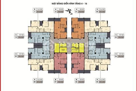 Chính chủ bán căn 1107, 94,4 m2, đối diện Aeon Mall, giá 2,8 tỷ vào trực tiếp hợp đồng mua bán