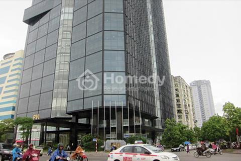 Cho thuê văn phòng phố Trần Thái Tông, tòa nhà PVI Tower, diện tích 100 m2, 200 m2, 300 m2, 500 m2