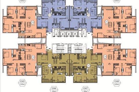 Cần bán căn 03 tầng 12 dự án CT15, view nội khu bể bơi sân tập